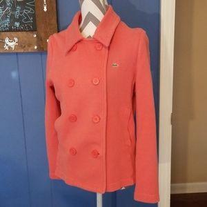 Lacoste burnt orange jacket size 44